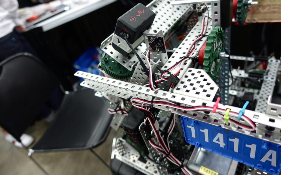 Kilpailupäivä 3 – VEX Robotics Competition Turning Point