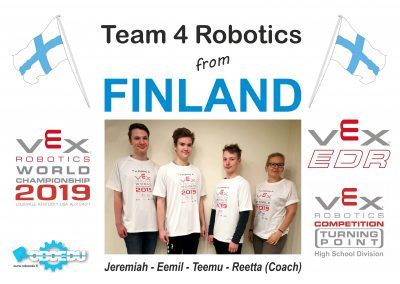 Team 4 Robotics (FIN)