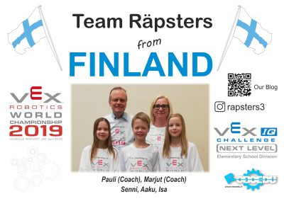 Team Räpsters (FIN)