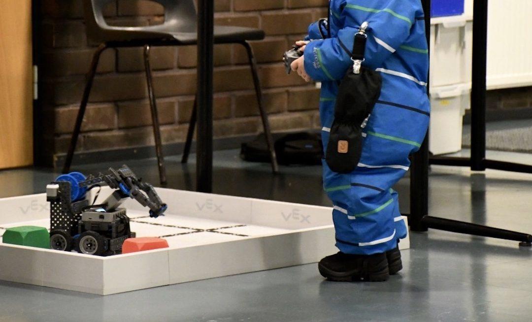 Tiedote: Riihimäellä robotiikasta osa varhaiskasvatusta